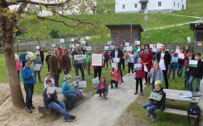 Volksschule Gasen ist Naturparkschule