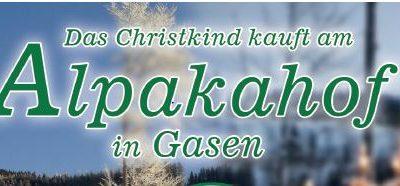 Gasen Alpaka – Hofladen Öffnungszeiten im Advent