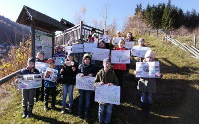 Naturparkschule Gasen ist Klimabündnisschule
