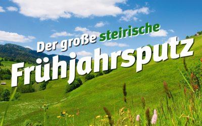 14. April bis 29. Mai – Steirischer Frühjahrsputz