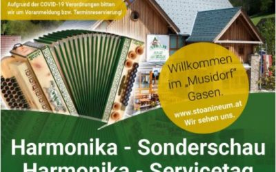 9. März – Harmonika Sonderschau & Servicetag