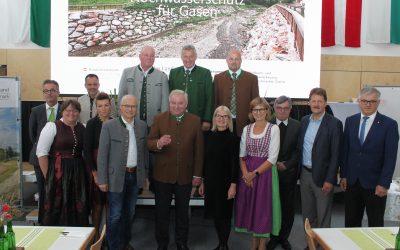 Hochwasserschutzprojekt in Gasen erfolgreich abgeschlossen!