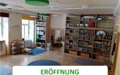 Eröffnung des neuen Kindergartens